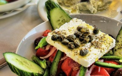 High quality tour meals - Greek food