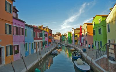 Italy group Tour - Murano Burano