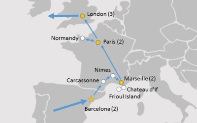 Map Of England France And Spain.Lingo Tours Spain France And England 11 Day Group Tour Discover