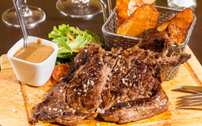 Steak Food Le Restaurant Montmarte Paris France French CoteBoeuf_850x425