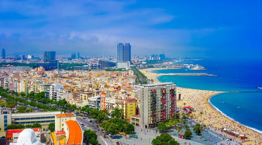 Barcelona Spain Beach