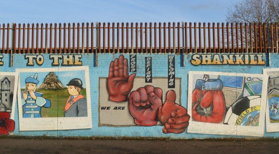 Belfast Ireland Tour Mural