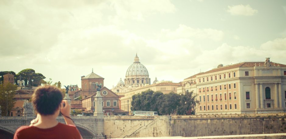 Explore Italy Tour, Vatican, Boy, Traveller