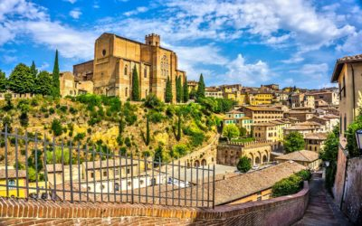 Italy Tour Siena town