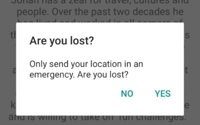 Lingo Tour App Screenshot LOST FUNCTION