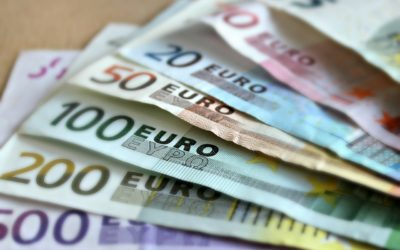 Cash euros money while on tour