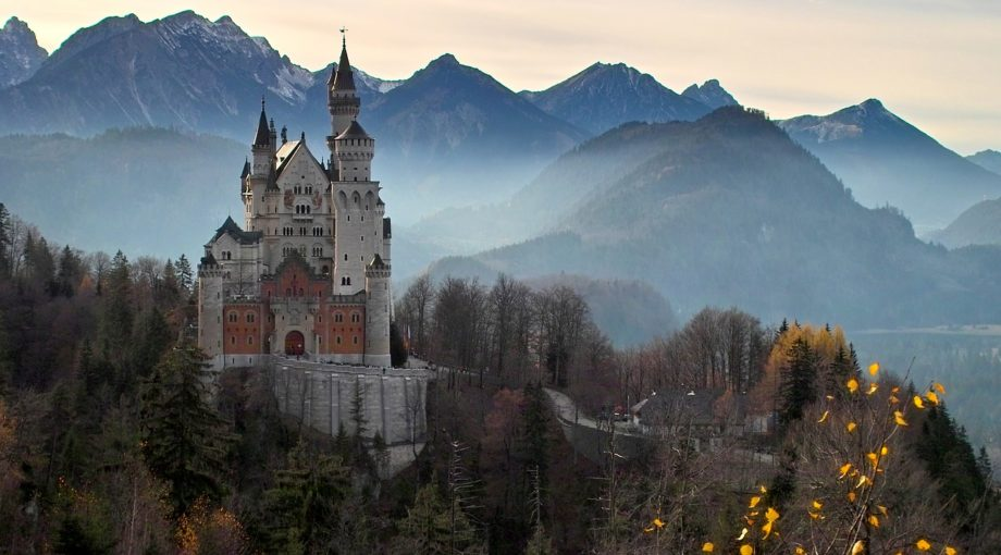 Neuschwanstein Castle, Germany, Autumn