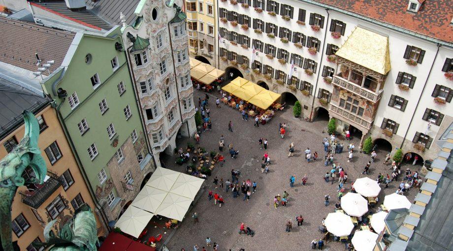 Innsbruck Austria Old Town City