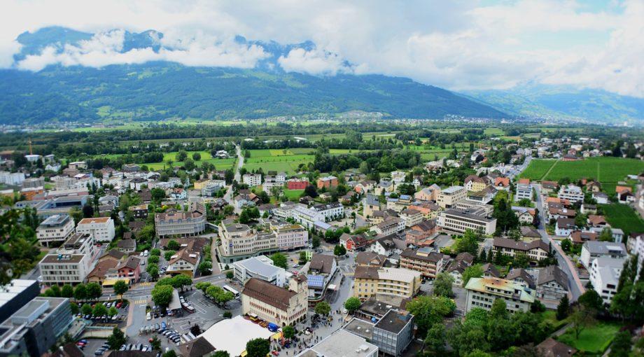 Liechtenstein city scape country
