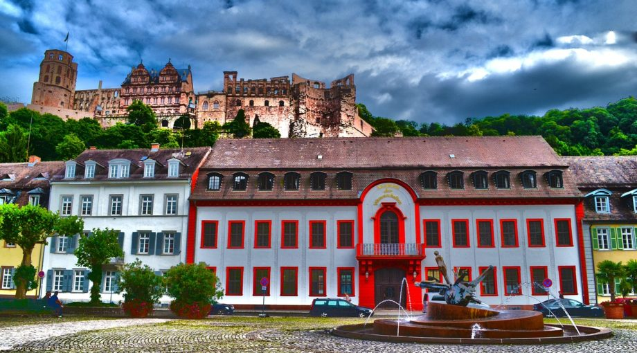 Choir Tour Germany Heidelberg street -2527212_1280
