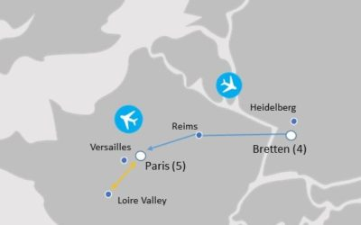 MAP - BAP864 - Bretten and Paris Choir Tour