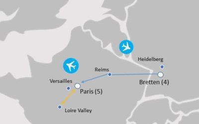 MAP - BAP864 - Bretten and Paris Choir Tour