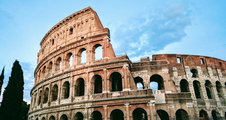 Rome and Greek Island Hopping Tour | Lingo Tours Rome Italy The Colosseum