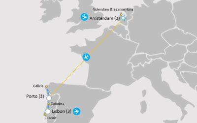 Portugal Tour Map