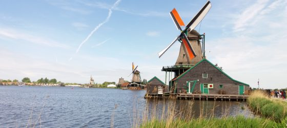 Zaanse Schans, Netherlands, Holland, Dutch, Windmills