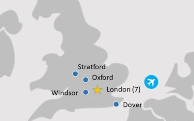 London City Stay Tour 2020 | Map