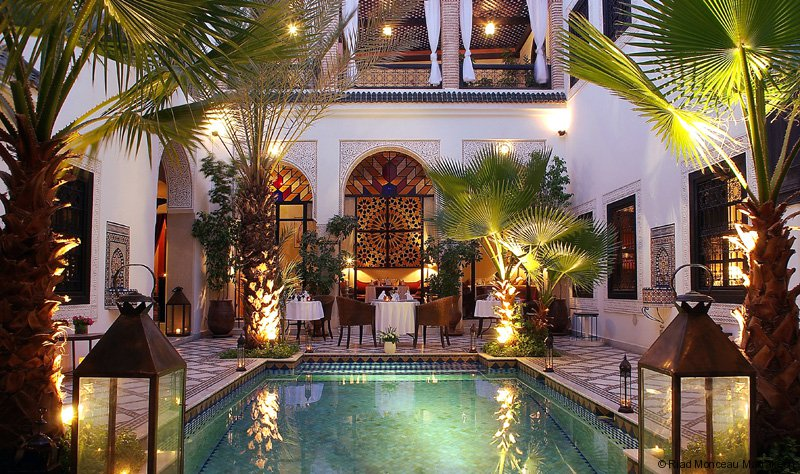 Marrakech Morocco Riad Luxuary