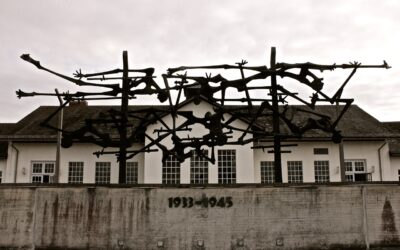 Dachau memorial and concentration camp Germany