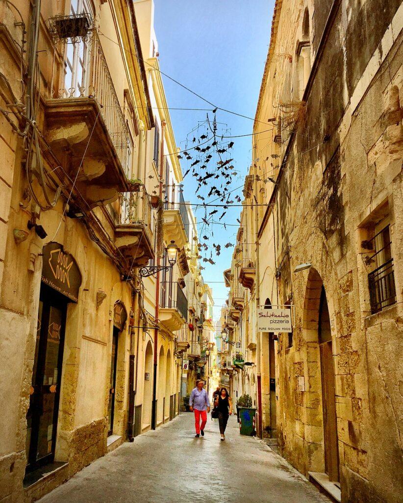 Syracuse Sicily Streets Ortygia